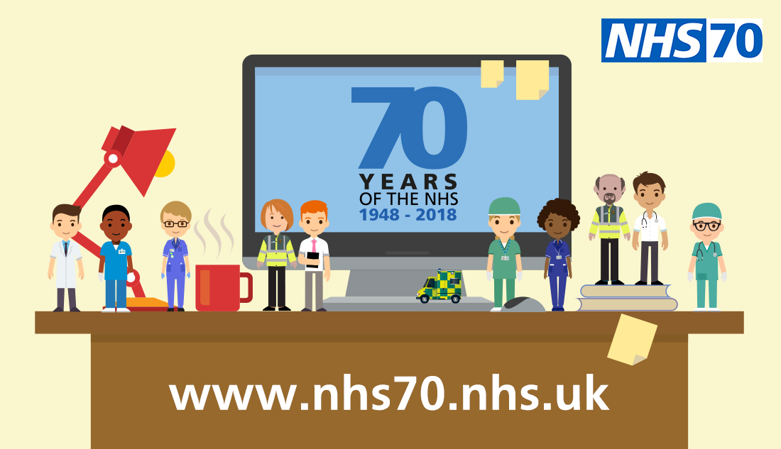 Visit the NHS70 website