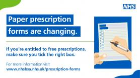 Paper FP10 prescription forms are changing