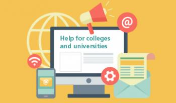 Information for universities and colleges
