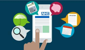 NHS Pensions members hub image